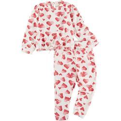 Toddler Girls 2-pc. Heart Lounger Set