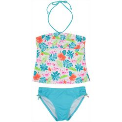 Toddler Girls 2-pc. Flamingo Halter Swimsuit