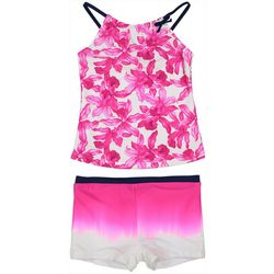 Toddler Girls 2-pc. Floral Shorts Swimsuit