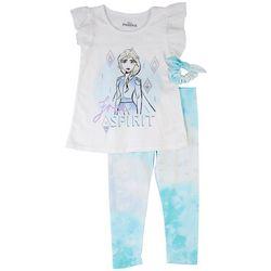 Disney Frozen Toddler Girls 3-pc. Free Spirit Pant Set
