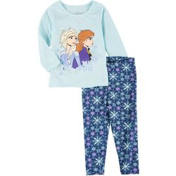 Disney Toddler Girls 2-Pc. Frozen II Character Pants Set