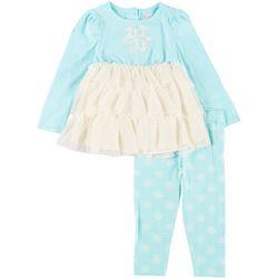 Nanette Toddler Girls 2-Pc. Snowflake Leggings Set
