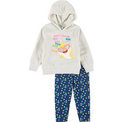 Toddler Girls 2-pc. Do Do Fleece Hoodie Set