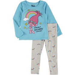 Trolls Toddler Girls 2-pc. Rainbow Moment Pant Set