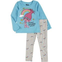 Toddler Girls 2-pc. Rainbow Moment Pant Set