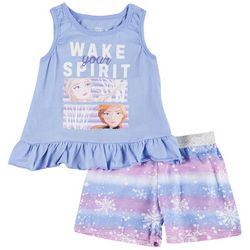 Disney Toddler Girls 2-pc. Frozen Wake Your Spirit Short Set