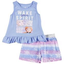 Toddler Girls 2-pc. Frozen Wake Your Spirit Short Set