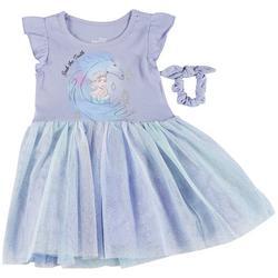 Toddler Girls Frozen II Seek The Truth Tulle Dress