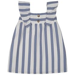 Andy & Evan Baby Girls Stripe Flutter Dress