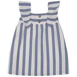 Baby Girls Stripe Flutter Dress