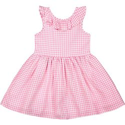 Andy & Evan Toddler Girls Gingham Dress