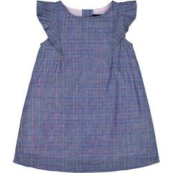 Andy & Evan Toddler Girls Pane Dress