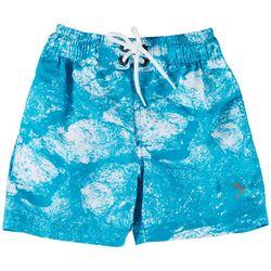 Reel Legends Toddler Boys Morning Frost Swim Shorts