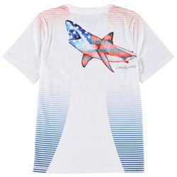 Reel Legends Toddler Boys Patriotic Great Bite T-shirt