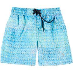 Reel Legends Toddler Boys Rainbow Tarpon Swim Shorts