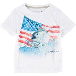Reel Legends Toddler Boys Reel-Tec God Bless T-Shirt