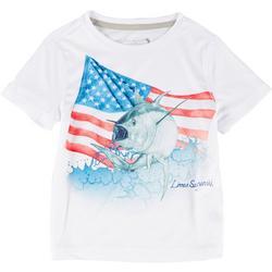 Toddler Boys Reel-Tec God Bless T-Shirt