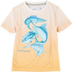 Reel Legends Toddler Boys Reel-Tec Off Shore Slam T-Shirt