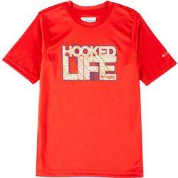 Columbia Toddler Boys Short Sleeve Hooked Life T-shirt