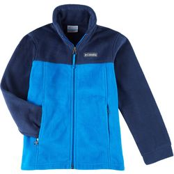 Toddler Boys Colorblock Fleece Jacket