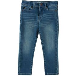 Lazer Toddler Boys Straight Leg Noah Stretch Denim Pants