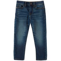 Lazer Toddler Boys Straight Martin Wash Denim Pants