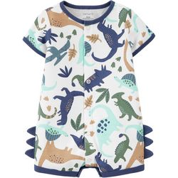 Carters Baby Boys Dinosaur Romper