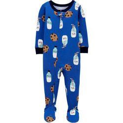 Carters Baby Boys Milk & Cookies Pajama