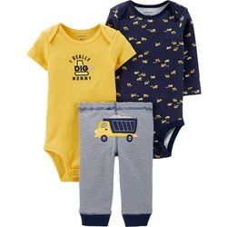 Carters Baby Boys 3-pc. I Really Dig Mommy Layette Set