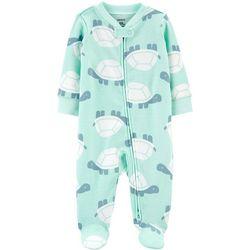 Carters Baby Boys Turtle Pajama