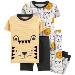 Baby Boys 4-pc. Lion Pajama Set