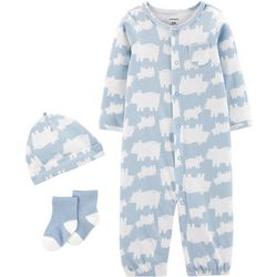 Carters Baby Boys 3-pc. Bear Take Me Home Layette Set