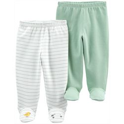 Carters Baby Boy 2-pk. Duck & Sheep Footed Pant Set