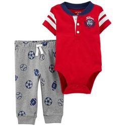 Carters Baby Boys Future All Star Bodysuit Set