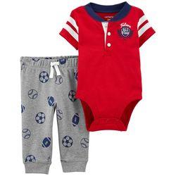 Carters Baby Boys Future All Star Bodysuit Set