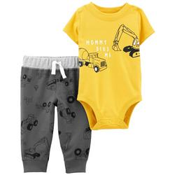 Baby Boys Mommy Digs Me Bodysuit Set