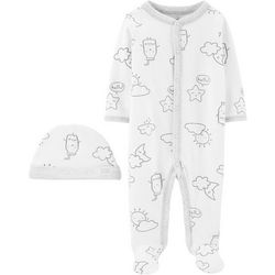 Carters Baby Boys Mill & Clouds Pajama