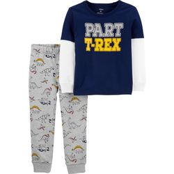Carters Baby Boys Part T-rex Jogger Pants Set