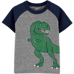 Carters Toddler Boys Raglan Dino T-Shirt