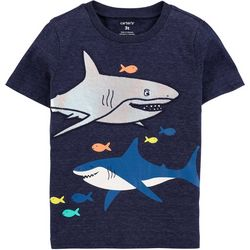Carters Toddler Boys Shark T-Shirt