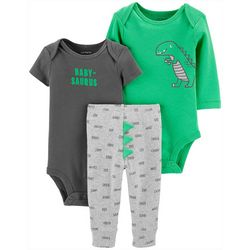 Carters Baby Boys 3-pc. Babysaurus Layette Set