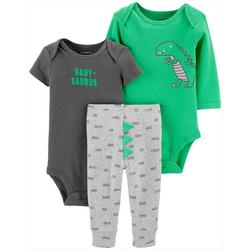 Baby Boys 3-pc. Babysaurus Layette Set
