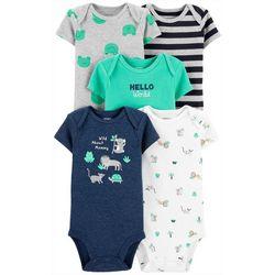 Baby Boys 5-pk. Wild About Mommy Bodysuits