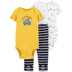 Baby Boys 3-pc. Rollin With Daddy Clothing Set