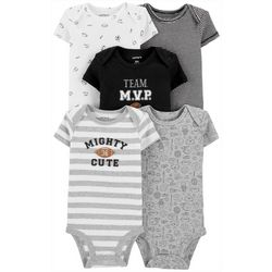 Carters Baby Boys 5-pk. Team M.V.P Bodysuits