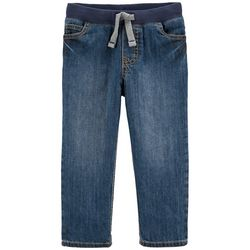 Toddlers Boys Denim Pullon Pants