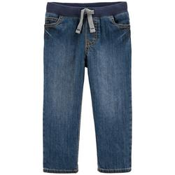 Toddlers Boys Denim Pullon Pants