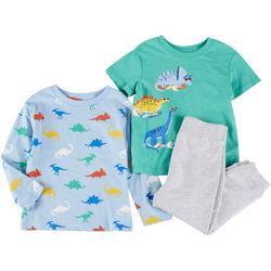 Baby Boys 3-pc. Dinosaur Pant Set