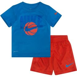 Nike Toddler Boys Dri-FIT Basketball Shorts Set