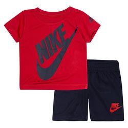 Nike Baby Boys Swoosh Logo Shorts Set
